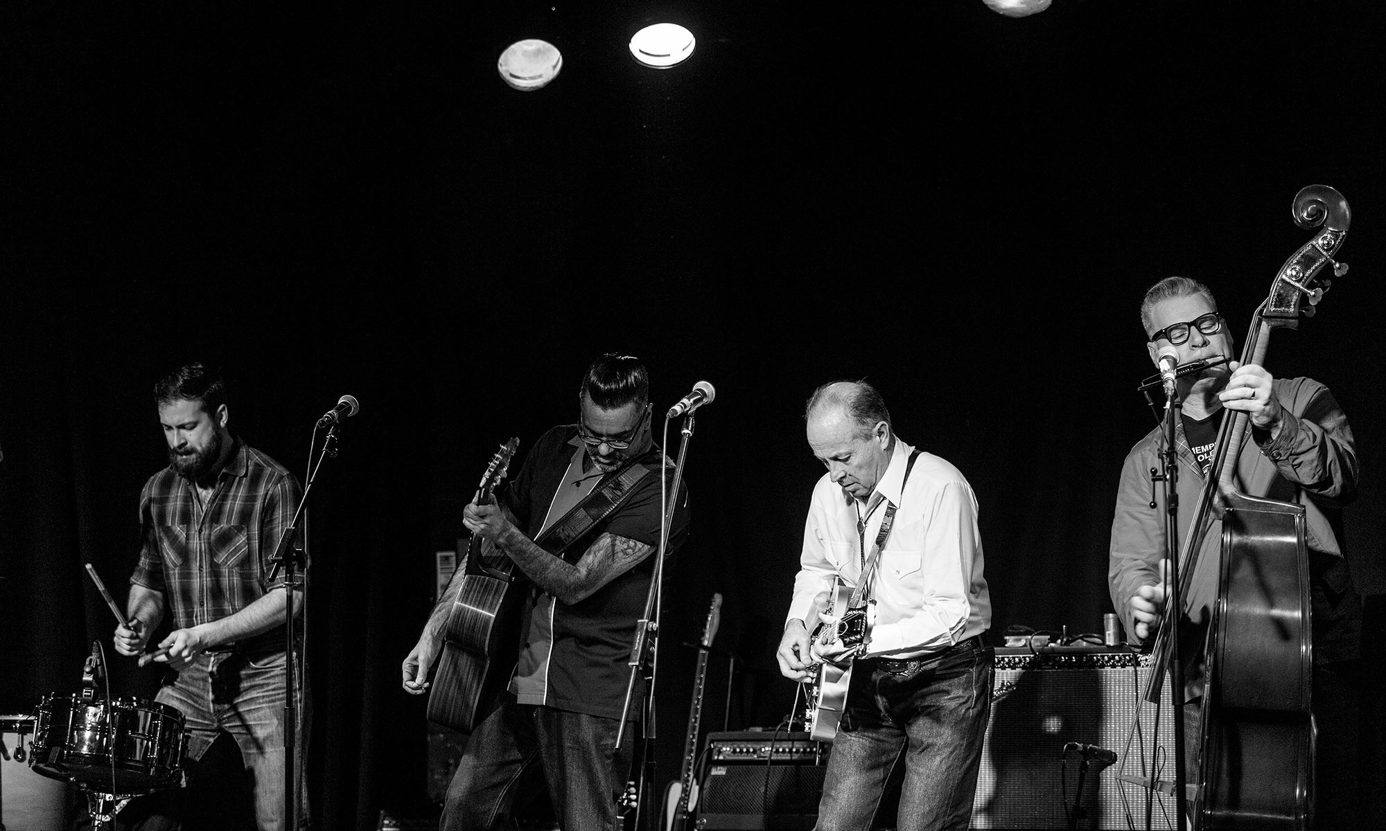 The Dodge Brothers at Belfast Black Box by Nigel McDowell